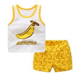 바나나 민나시 유아 상하복(0-3세)300084