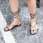 [로코식스] gladiator strap sandle샌들