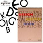 A4아트스퀘어 디자인스케치북B02 220g 20매 210x29상