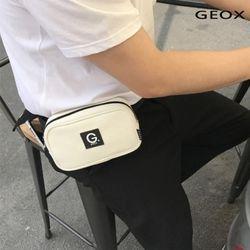 [GEOX] 마크 웨이스트백 아이보리
