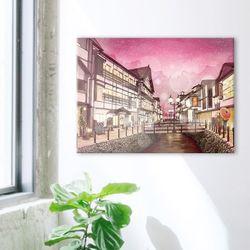 1000조각 직소퍼즐 - 야마가타현의 밤 (3H10-1009)