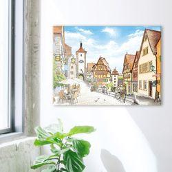 1000조각 직소퍼즐-로텐부르크 인형 마을(3H10-1008)
