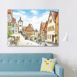 500조각 직소퍼즐 - 로텐부르크 인형 마을 (3H05-508)