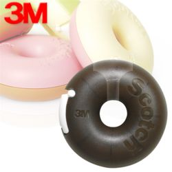 3M매직테이프 도넛디스펜서 초코 810DN-CH 12x10M