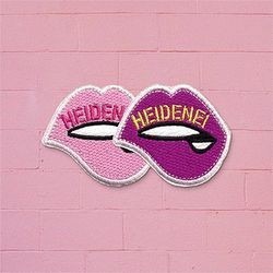 CANDY LIPS [ Velcro it patch ]