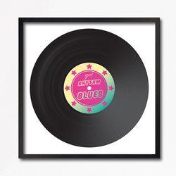 LP 메탈 액자 - Got rhythm and blues