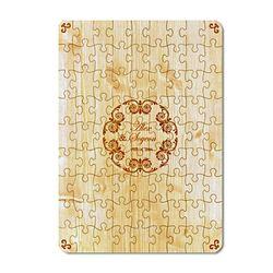 주문제작 - 목재 퍼즐 방명록 [결혼][웨딩][돌잔치]