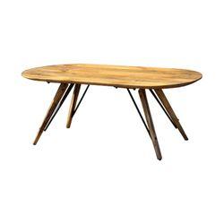SHTB-2202 원목 라운드 커피 테이블