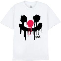 [사쿤][티셔츠] T-SPRAY PIERROT(WHITE)