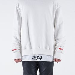 RE16-DT01 LAYERED T-SHIRT(white)