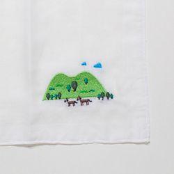 [Organic cotton] Handkerchief