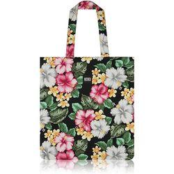 Hibiscus Flat Tote Bag