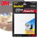 3M초강력다용도폼양면테이프 평면용 10cmX10cm UPS101
