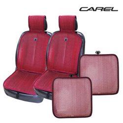 CAREL 쿨썸 모던 시트 와인 2장 + 방석 2장 풀세트