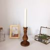 wood candle holder 나무촛대