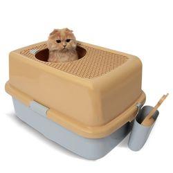 펫디아 탑도어 고양이 화장실