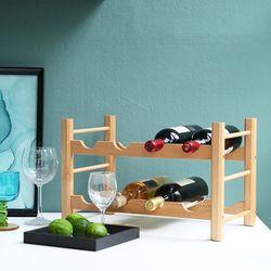 [지니어스] FiXA 2단 와인선반 와인렉