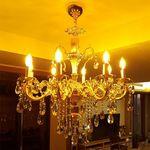 란슬롯 샹델리에 8등(LED 겸용)