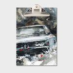 강민석 에디션 클립보드 A4 no.015