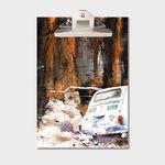강민석 에디션 클립보드 A4 no.018