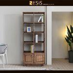 네시스 도슨 원목도장 800 도어책장 HF151