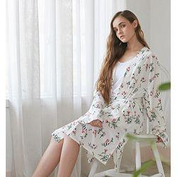 fleur robe set(white) 플레르 로브 세트(화이트)