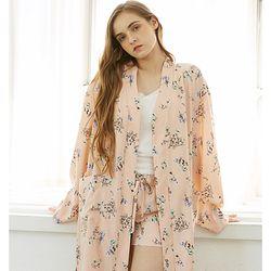 fleur robe set (pink) 플레르 로브 세트(핑크)