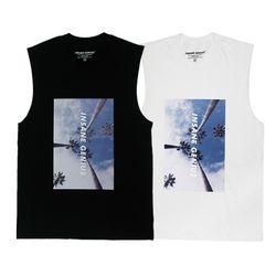 인세인지니어스 팜트리 슬리브리스 티셔츠