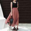 Chiffon long skirt2