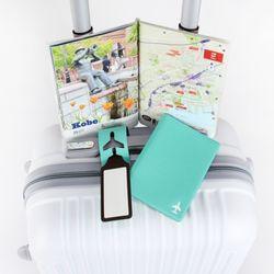 여권케이스+여행택 세트