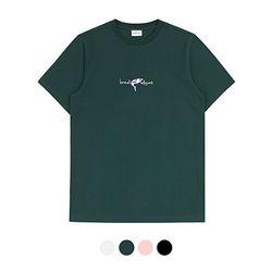 바리케이트 JAWS PARADIGMS 자수 티셔츠 - 그린