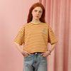 Wonderland Stripe Tshirt-light yellow