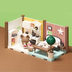 [하코룸] 곰의 학교 주방 & 식당 키트
