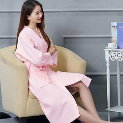 호텔가운 핑크