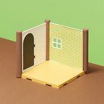[하코룸] 곰의 학교 베이스파츠 객실 바닥제 키트