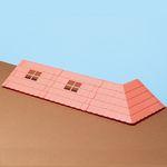 [하코룸] 곰의 학교 베이스파츠 빨간 지붕 키트