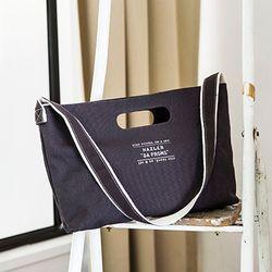 [Da proms] The Handle bag - Charcoal