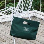 [Da proms] The Handle bag - Green