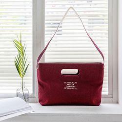 [Da proms] The Handle bag - Wine
