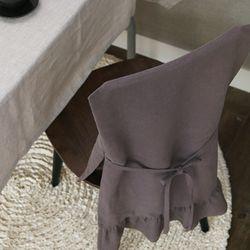 루젠 의자 등커버2- 로즈브라운 (단품)