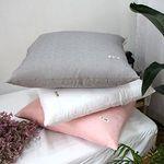 심플 인견 대형 방석 커버 (솜미포함)