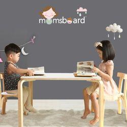 맘스니노책상+의자2개세트 어린이 테이블