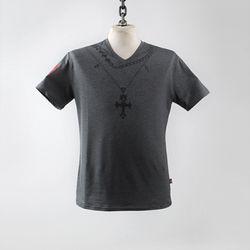 그린바나나 Chain Cross V Neck