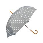 lifestudio 패턴 자동 장우산 v.3 - DOT GRAY