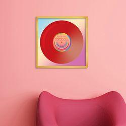 LP 메탈 액자 - over the rainbow
