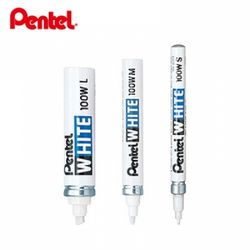 펜텔 100W-L 화이트 마카