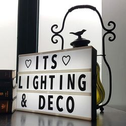 LED 레터링-DIY 라이트 박스