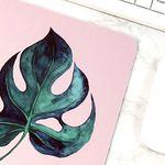 식물 일러스트 마우스패드 + 미니 포스터 2종 세트 7