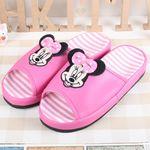 디즈니 리본 거실화 핑크 0707