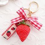 I love strawberry (키링키홀더)